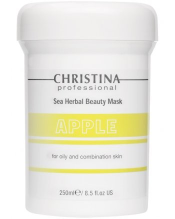 Christina Sea Herbal Beauty Mask Green Apple - Яблочная маска красоты для жирной и комбинированной кожи 250 мл - hairs-russia.ru