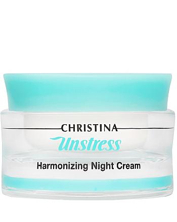 Christina Unstress Harmonizing Night Cream - Гармонизирующий ночной крем 50 мл - hairs-russia.ru
