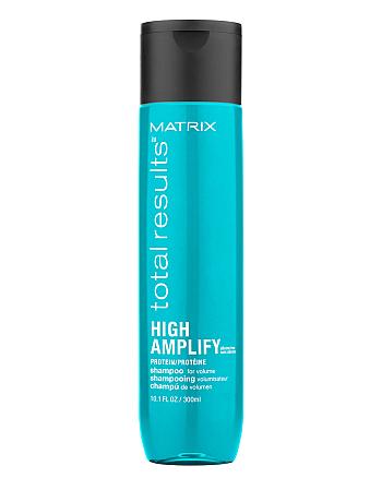 Matrix Total Results High Amplify Shampoo - Шампунь для объема тонких волос с протеинами, 300 мл - hairs-russia.ru