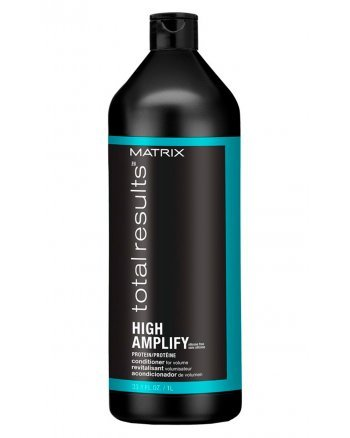 Matrix Total Results High Amplify Conditioner - Кондиционер для объема тонких волос с протеинами, 1000 мл - hairs-russia.ru