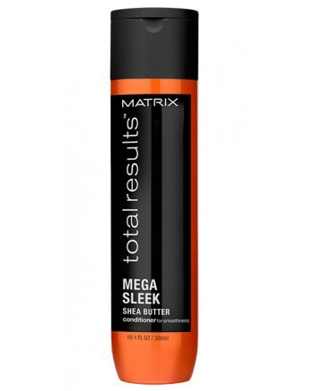 Matrix Total Results Mega Sleek Conditioner - Кондиционер для гладкости непослушных волос с маслом ши, 300 мл - hairs-russia.ru
