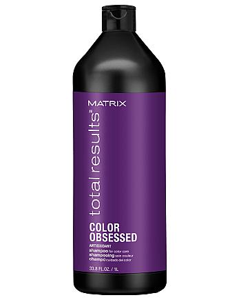 Matrix Total Results Color Obsessed Care Shampoo - Шампунь для защиты цвета окрашенных волос с антиоксидантами, 1000 мл - hairs-russia.ru