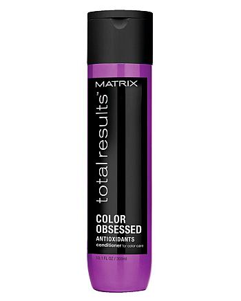 Matrix Total Results Color Obsessed Conditioner - Кондиционер для защиты цвета окрашенных волос с антиоксидантами, 300 мл - hairs-russia.ru