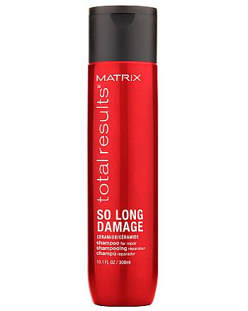 Matrix Total Results So Long Damage Shampoo - Шампунь для восстановления ослабленных волос с керамидами, 300 мл - hairs-russia.ru