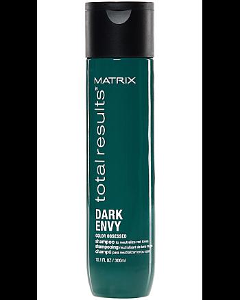 Matrix Total Results Dark Envy Shampoo - Шампунь для нейтрализации красных оттенков тёмных тонов волос 300 мл - hairs-russia.ru