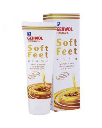 Gehwol Fusskraft Soft-Feet Creme Milk and Honey - Шёлковый крем Молоко и мед 40 мл - hairs-russia.ru