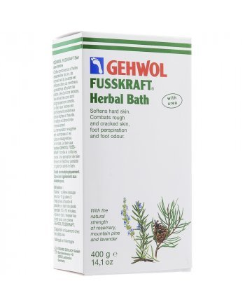 Gehwol Fusskraft Herbal Bath - Травяная ванна 400 гр - hairs-russia.ru