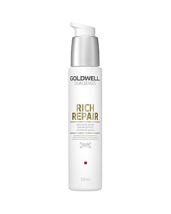 Goldwell Dualsenses Rich Repair 6 Effects Serum – Сыворотка 6-кратного действия 100 мл - hairs-russia.ru