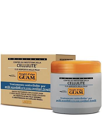 Guam Fanghi D'Alga - Маска антицеллюлитная для чувствительной кожи с хрупкими капиллярами 500 г - hairs-russia.ru