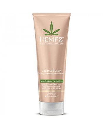 Hempz Coconut Fusion Energizing Herbal Body Wash - Гель для душа Бодрящий Кокос 250 мл