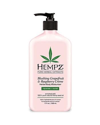 Hempz Blushing Grapefruit and Raspberry Moisturizer - Молочко для тела увлажняющее Грейпфрут и Малина 500 мл