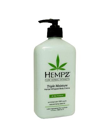 Hempz Herbal Body Triple Moisture - Молочко для тела - Тройное Увлажнение 500 мл - hairs-russia.ru