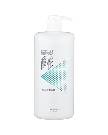 Lebel 4.7 Hair Nourishing Soap - Шампунь для волос «Жемчужный 4,7» 1200 мл - hairs-russia.ru