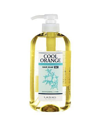 Lebel Cool Orange Hair Soap Super Cool - Шампунь для волос «Супер Холодный Апельсин» 600 мл - hairs-russia.ru