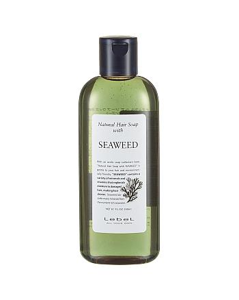 Lebel Natural Hair Soap Treatment Seaweed - Шампунь с морскими водорослями 240 мл - hairs-russia.ru
