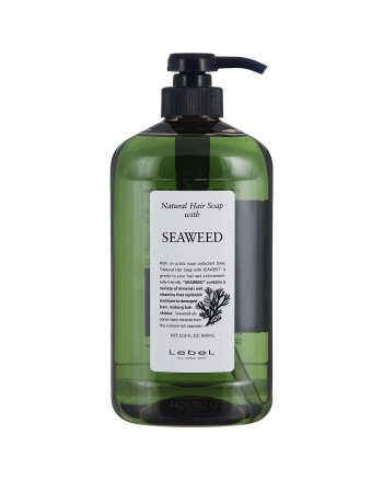 Lebel Natural Hair Soap Treatment Seaweed - Шампунь с морскими водорослями 1000 мл - hairs-russia.ru