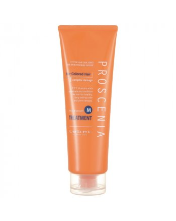 Lebel Proscenia Treatment M - Маска для окрашенных волос и волос после химического выпрямления 240 мл - hairs-russia.ru