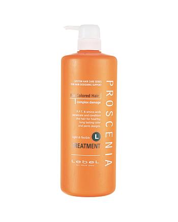 Lebel Proscenia Treatment L - Маска для окрашенных и химически завитых волос 980 мл - hairs-russia.ru
