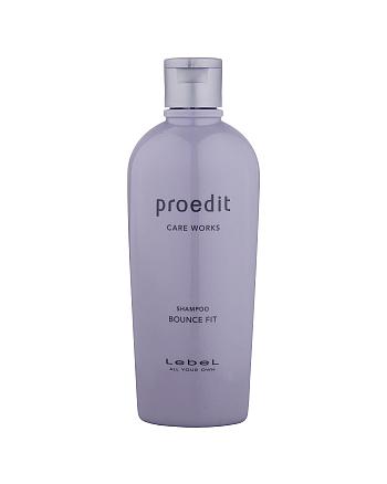 Lebel Proedit Care Works Bounce Fit Shampoo - Шампунь для мягких волос 300 мл - hairs-russia.ru