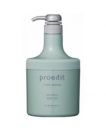 Lebel Proedit Care Works Soft Fit Treatment - Маска для жестких и непослушных волос 600 мл - hairs-russia.ru
