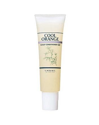 Lebel Cool Orange Scalp Conditioner M - Очиститель для сухой кожи головы «Холодный Апельсин» 130 гр - hairs-russia.ru