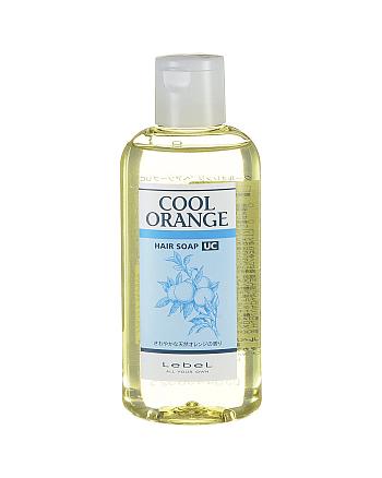 Lebel Cool Orange Hair Soap Ultra Cool - Шампунь для волос «Ультра Холодный Апельсин» 200 мл - hairs-russia.ru