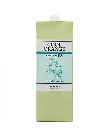 Lebel Cool Orange Hair Soap Cool - Шампунь для волос «Холодный Апельсин» 1600 мл - hairs-russia.ru
