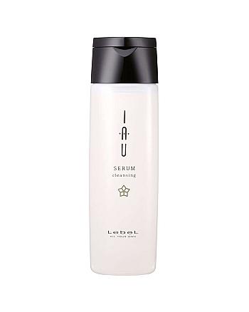 Lebel IAU Serum Cleansing - Увлажняющий шампунь для вьющихся волос 200 мл - hairs-russia.ru