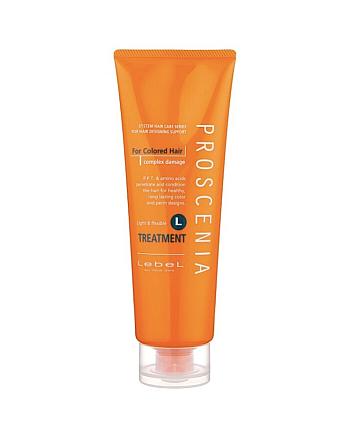 Lebel Proscenia Treatment L - Маска для окрашенных и химически завитых волос 240 мл - hairs-russia.ru