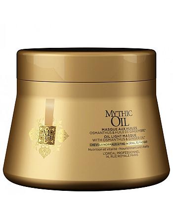 L'Oreal Professionnel Mythic Oil Masque For Normal Hair - Маска для нормальных и тонких волос 200 мл - hairs-russia.ru