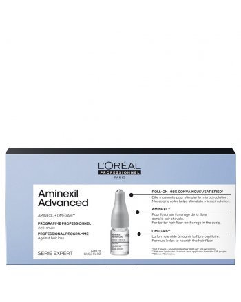 L'Oreal Professionnel Serie Expert Aminexil Advanced - Лосьон в монодозах от выпадения волос, 10х6 мл - hairs-russia.ru