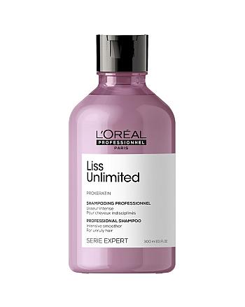 L'Oreal Professionnel Serie Expert Liss Unlimited - Шампунь для непослушных волос, 300 мл - hairs-russia.ru