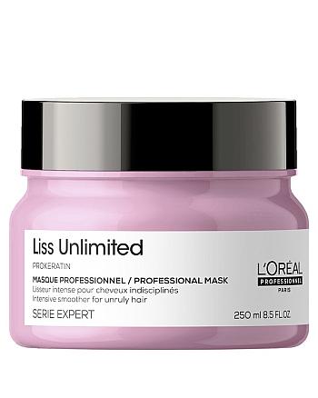 L'Oreal Professionnel Serie Expert Liss Unlimited - Маска для непослушных волос, 250 мл - hairs-russia.ru