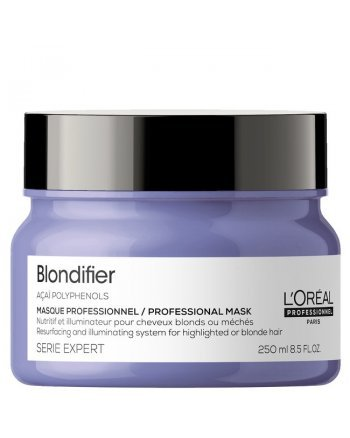 L'Oreal Professionnel Serie Expert Blondifier Gloss - Маска для осветленных и мелированных волос, 250 мл - hairs-russia.ru