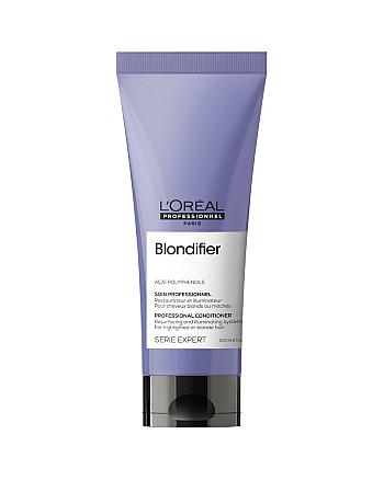 L'Oreal Professionnel Serie Expert Blondifier Gloss - Кондиционер для осветленных и мелированных волос, 200 мл - hairs-russia.ru