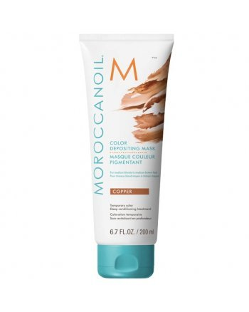 Moroccanoil Color Depositing Mask Cooper - Маска тонирующая для волос Медный 200 мл - hairs-russia.ru