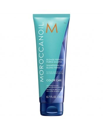 Moroccanoil Color Care Shampoo - Тонирующий шампунь для светлых волос 200 мл - hairs-russia.ru