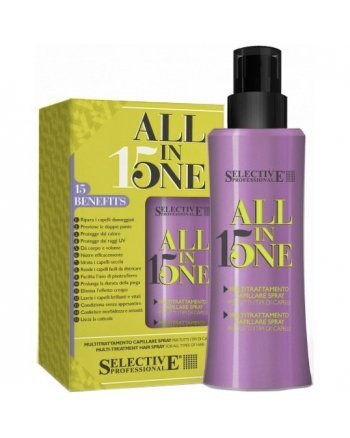 Selective All in one Многофункциональная маска – спрей для всех типов волос 150 мл - hairs-russia.ru