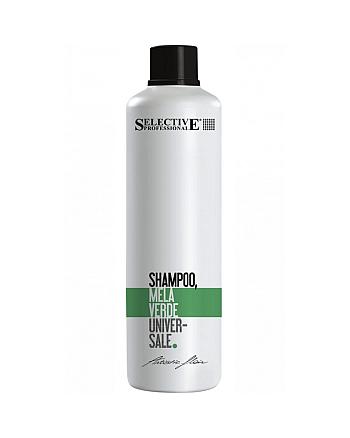 Selective Shampoo Alla Mela Verde Шампунь для всех типов волос «Зелёное яблоко» 1000 мл - hairs-russia.ru