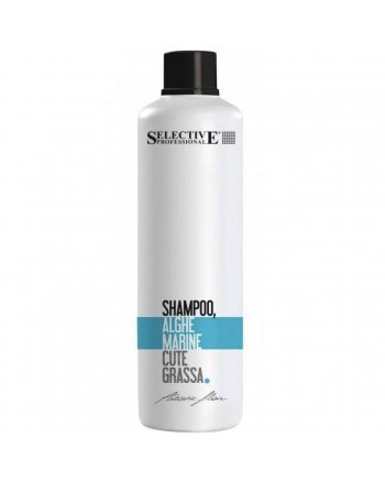 Selective Shampoo Alle Alghe Marine Шампунь для нормальной работы сальных желез «Морские водоросли» 1000 мл - hairs-russia.ru
