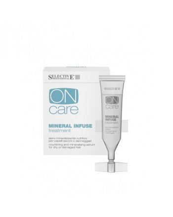 Selective On Care Nutrition Mineral Infuse Treatment Питательная сыворотка с минералами для сухих и поврежденных волос 10*10 мл