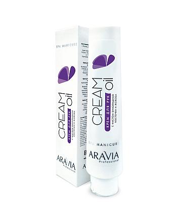 Aravia Professional Cream Oil - Крем для рук с маслом виноградной косточки и жожоба 100 мл - hairs-russia.ru