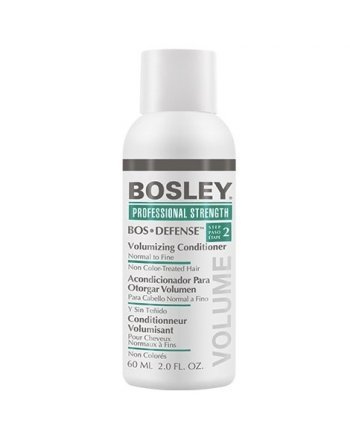 Bosley Воs Defense (step 2) Volumizing Сonditioner Normal to Fine Non Color-Treated Hair - Кондиционер для объема нормальных/тонких неокрашенных волос 60 мл - hairs-russia.ru