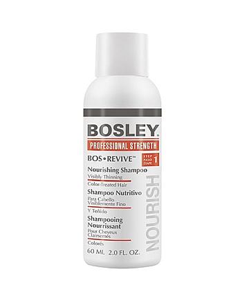 Bosley Воs Revive (step 1) Nourishing Shampoo Visibly Thinning Color-Treated Hair - Шампунь питательный для истонченных окрашенных волос 60 мл - hairs-russia.ru