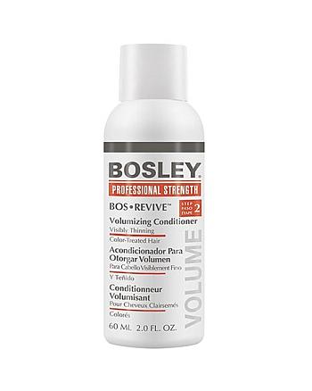 Bosley Воs Revive (step 2) Volumizing Сonditioner Visibly Thinning Color-Treated Hair - Кондиционер для объема истонченных окрашенных волос 60 мл - hairs-russia.ru