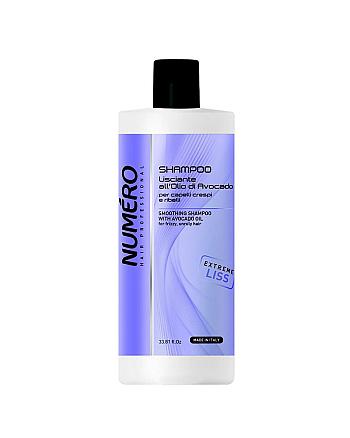 Brelil Numero Liss Smoothing Shampoo - Шампунь разглаживающий для пушистых и непослушных волос 1000 мл