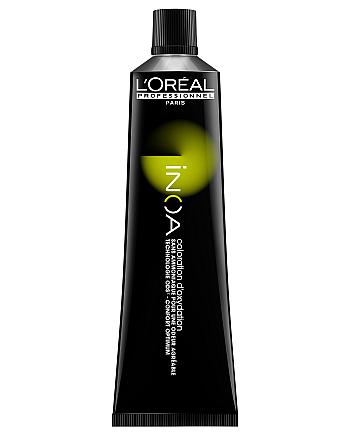 INOA ODS2 - Стойкая краска для волос без аммиака № 7.07 Блондин глубокий метализированный, 60 мл - hairs-russia.ru