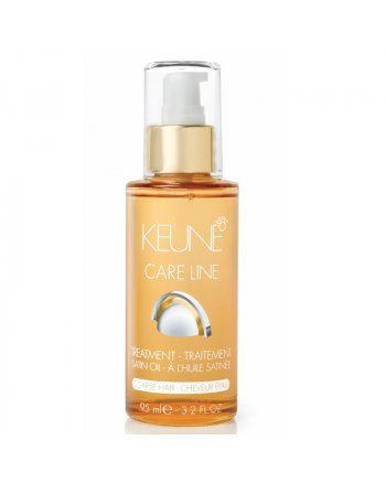 Keune Care Line Satin Oil Treatment Coarse - Масло плюс Шелковый уход 95 мл - hairs-russia.ru