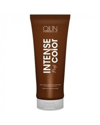 Ollin Intense Profi Color Brown Hair Balsam Бальзам для коричневых оттенков волос 200 мл - hairs-russia.ru