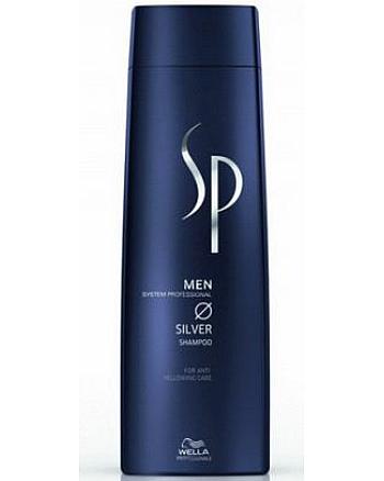 Wella SP Men Silver Shampoo Шампунь с серебристым блеском 250 мл - hairs-russia.ru